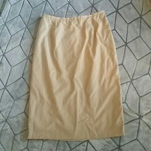 Cream Escada skirt